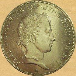 Ferdinand I.(V.), 1/2 tolar 1837 – 1848