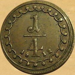 František I., 1/4 krejcar 1812