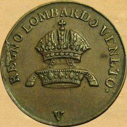 1-centesimo-1834-V