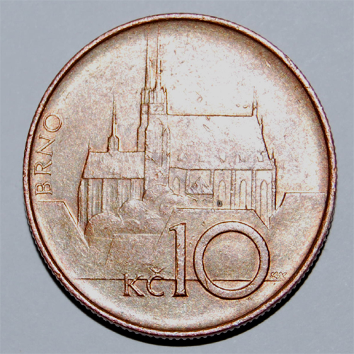 Určení mince a její hodnoty