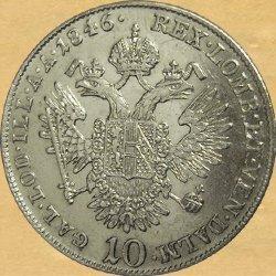 Ferdinand I.(V.), 10 krejcar 1835 – 1848