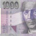 Bankovka 1000 Sk slovenskej korunovej meny UNC