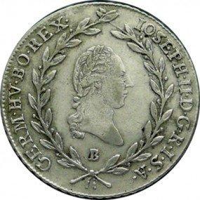 Josef II., 20 krejcar 1781 – 1790