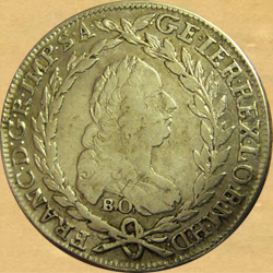 František Lotrinský, 20 krejcar 1765