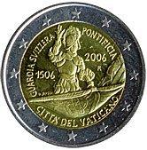 Oběžné pamětní mince 2 € – 2006