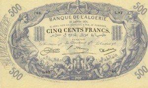 Alžírsko – bankovky