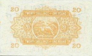 Východní Afrika – bankovky