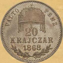 20-krejcar-1868-kb-1