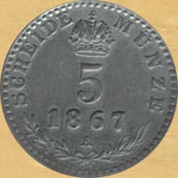 5-krejcaru-1867-1
