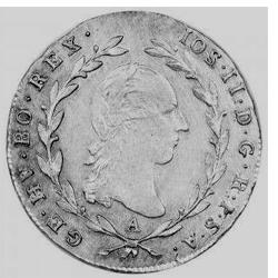 Josef II., 5 krejcar 1783 – 1790