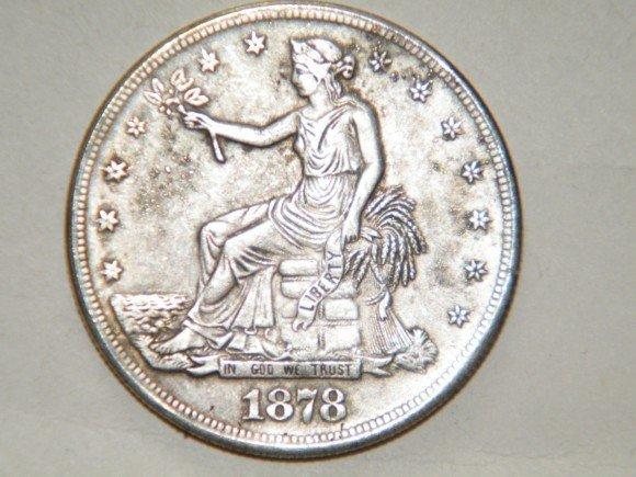 Čínské padělky mincí USA