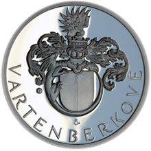 Nové sady medailí – Vartenberkové