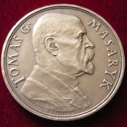 stříbrná pamětní mince T.G.M