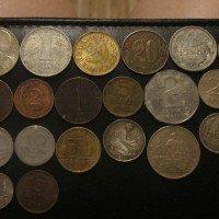 mince stříbrné,české i jíné