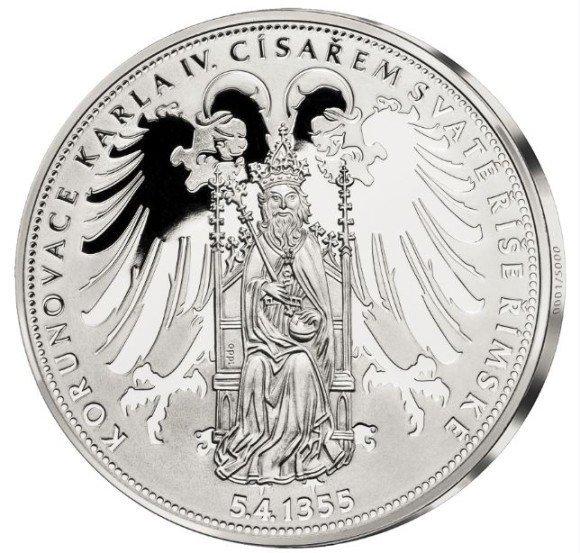 Národní Pokladnice oslaví 660. výročí korunovace Karla IV. římským císařem medailí pro každého ZDARMA!